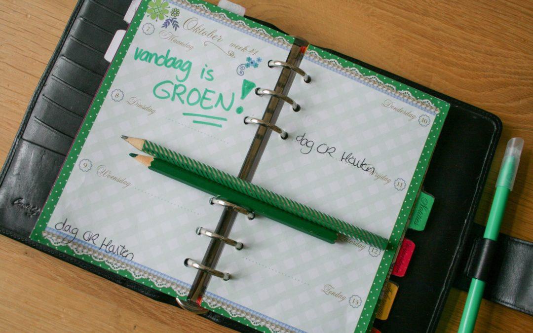Groene kalender