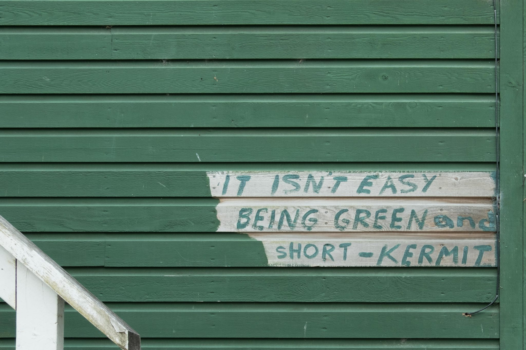 It isn't easy being green and short